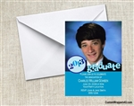 Graduation Announcement / Invitation - Photo 1 (colors can be changed)