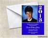 Graduation Announcement / Invitation - Photo 2 (colors can be changed)
