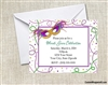 Mardi Gras Invitation - Mask