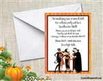 Halloween Invitation - Adult Costume Party