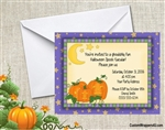 Halloween Invitation - Pumpkins