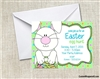 Easter Party Invitation - Easter Bunny