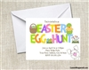 Easter Party Invitation - Easter Egg Hunt
