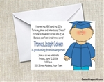 Graduation Announcement / Invitation - Kid