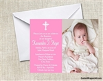 Baptism Invitation - Custom Photo 2
