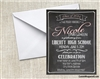 Graduation Announcement / Invitation - Chalkboard 3