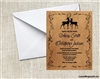 Wedding Invitation - Deer Buck and Doe