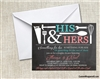Bridal Shower Invitation - Couples Shower Tools