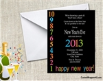 New Year's Eve Invitation - Countdown