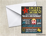 Sweet Sixteen birthday party invitation