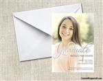 Graduation Photo Invitation