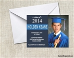 Graduation Announcement / Invitation - Photo 4 (colors can be changed)