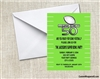 Super Bowl Invitation - Green