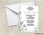 Bridal Shower Invitation - Wild Flowers