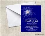 Fourth (4th) of July Invitation - Fireworks