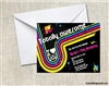 Birthday Invitation - I Love the 80s