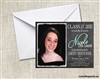 Graduation Announcement / Invitation - Photo 5 (colors can be changed)