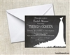 Bridal Shower Invitation - Gown