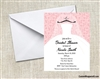 Bridal Shower Invitation - Wedding Gown on Hanger