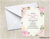 Bridal Shower Invitation - Roses