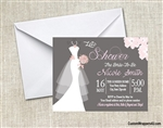 Bridal Shower Invitation - Gown 2
