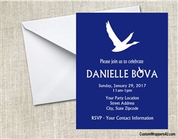Grey Goose Adult Birthday Party Invitation