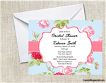 Bridal Shower invitation flowers