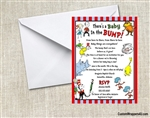 Dr. Seuss Baby Shower Invitation