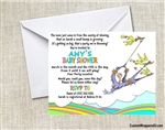Dr. Seuss Places You'll Go Baby Shower Invitation