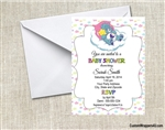 Care Bears Baby Shower Invitation Carebears