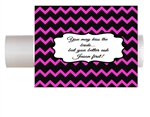 Wedding chapstick lip balm label custom personalized