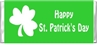 St. Patrick's Day Candy Wrapper - Shamrock