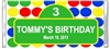 Birthday Candy Wrapper - Sesame Street Sign
