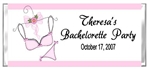 Bacheloretty Party Candy Wrapper - Pink Lingerie