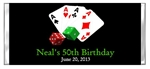 Adult Birthday Candy Wrapper - Poker Playing Cards & Dice (Casino Theme)