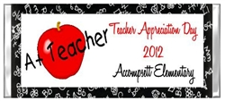 Teacher Appreciation Candy Wrapper - A+ Teacher