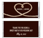 Wedding Candy Wrapper - Rope