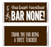 Teacher Appreciation Candy Wrapper - Bar None