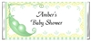 Baby Shower Candy Wrapper - Two Peas in a Pod