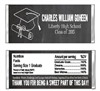Graduation Candy Wrapper - Chalkboard Cap & Diploma