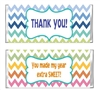 End of the School Year Candy Wrapper - Chevron