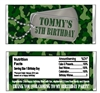 Army Camouflage Birthday Party Favor Candy Wrapper