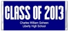 Graduation Candy Wrapper - Class of (colors can be changed)