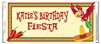 Birthday Candy Wrapper - Fiesta Parrott (Cinco de Mayo)