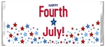 Fourth (4th) of July Candy Wrapper - Patriotic Stars