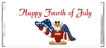 Fourth (4th) of July Candy Wrapper - American Eagle