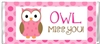End of the School Year Candy Wrapper - Owl Miss You Pink