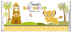 baby shower candy wrapper lion king