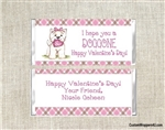 Puppy Dog Valentine's Day Candy Wrapper