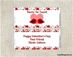 Birds Tweet Twitter Valentine's Day Candy Wrapper